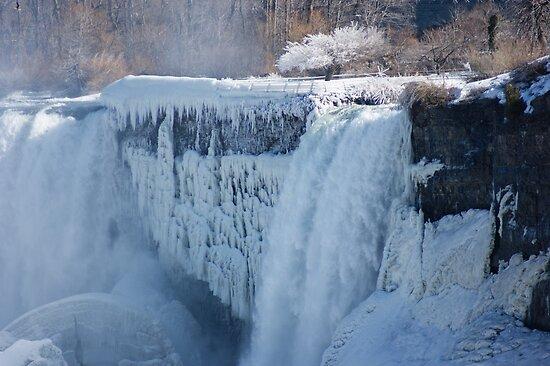 """Icy Niagara Falls"" By Georgia Mizuleva"