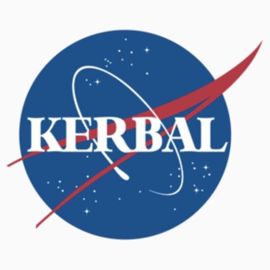 """""""Kerbal Space Program NASA logo (small)"""" T-Shirts ..."""