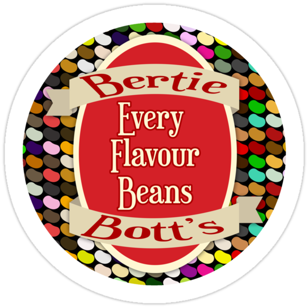 photo relating to Bertie Botts Every Flavor Beans Printable named Bertie Botts Just about every Taste Beans Label Printable