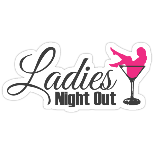 """Ladies Night out"" Stickers by nektarinchen | Redbubble"