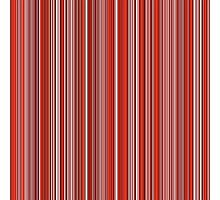 Many colorful stripe pattern in red on Photographic Prints by pASob-dESIGN | Redbubble