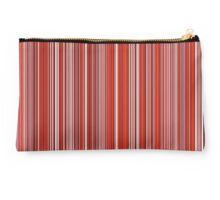 Many colorful stripe pattern in red on Studio Pouch by pASob-dESIGN | Redbubble