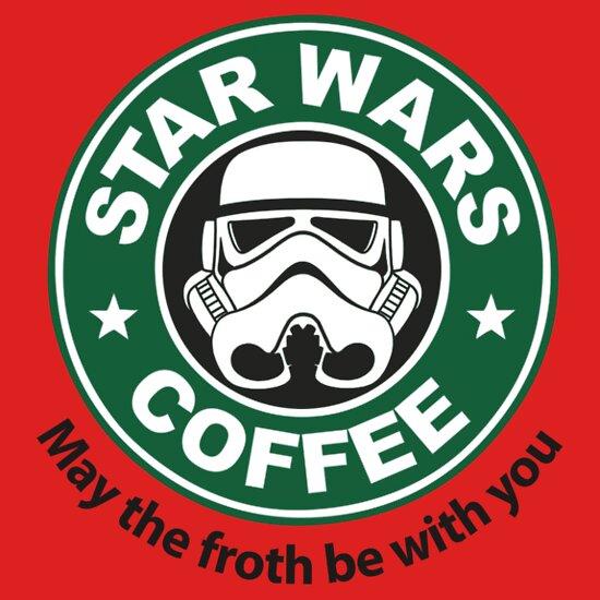 TShirtGifter presents: Star Wars Coffee T-Shirt