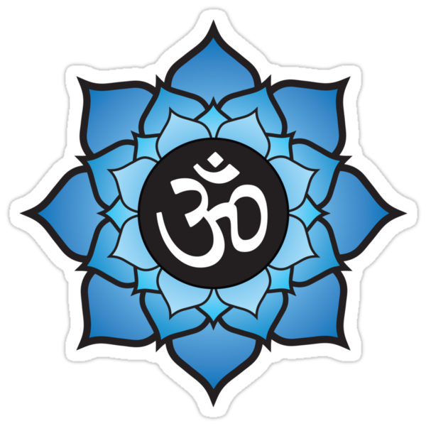 """Lotus Aum Mantra"" Stickers by JKline 