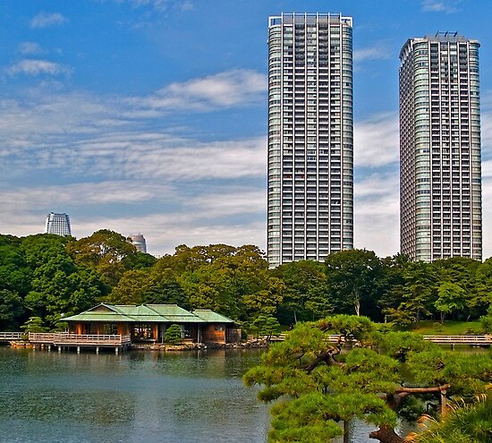 """Apartments In Tokyo: """"Tall Apartment Buildings, Tokyo, Japan."""" By Johnrf"""