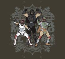 ?Los Empiradores! - Vader Muerto, EstormoFederal? y El Boba T-Shirt