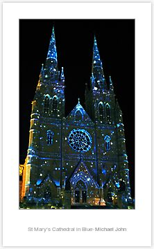 Quot Starry Night At St Mary S Cathedral Quot By Michael John