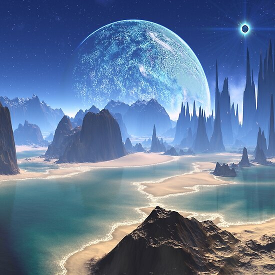 PlanetScapes Art (page 2) - Pics about space